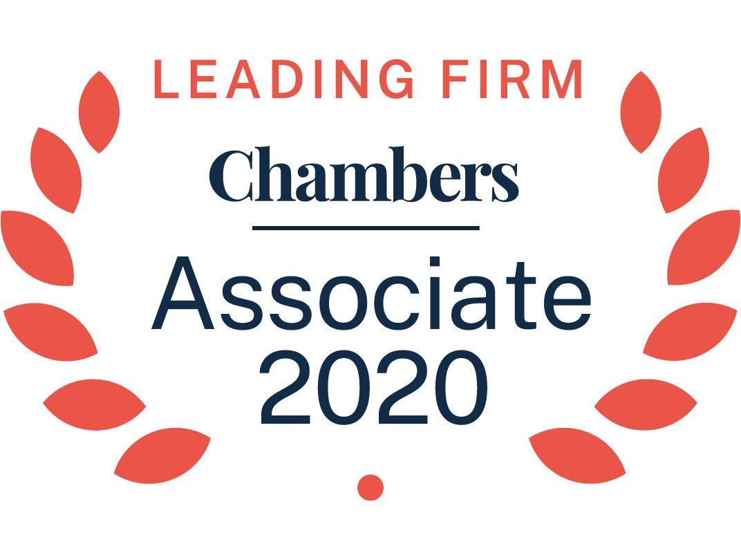 Chambers Leading Firm Associate 2019