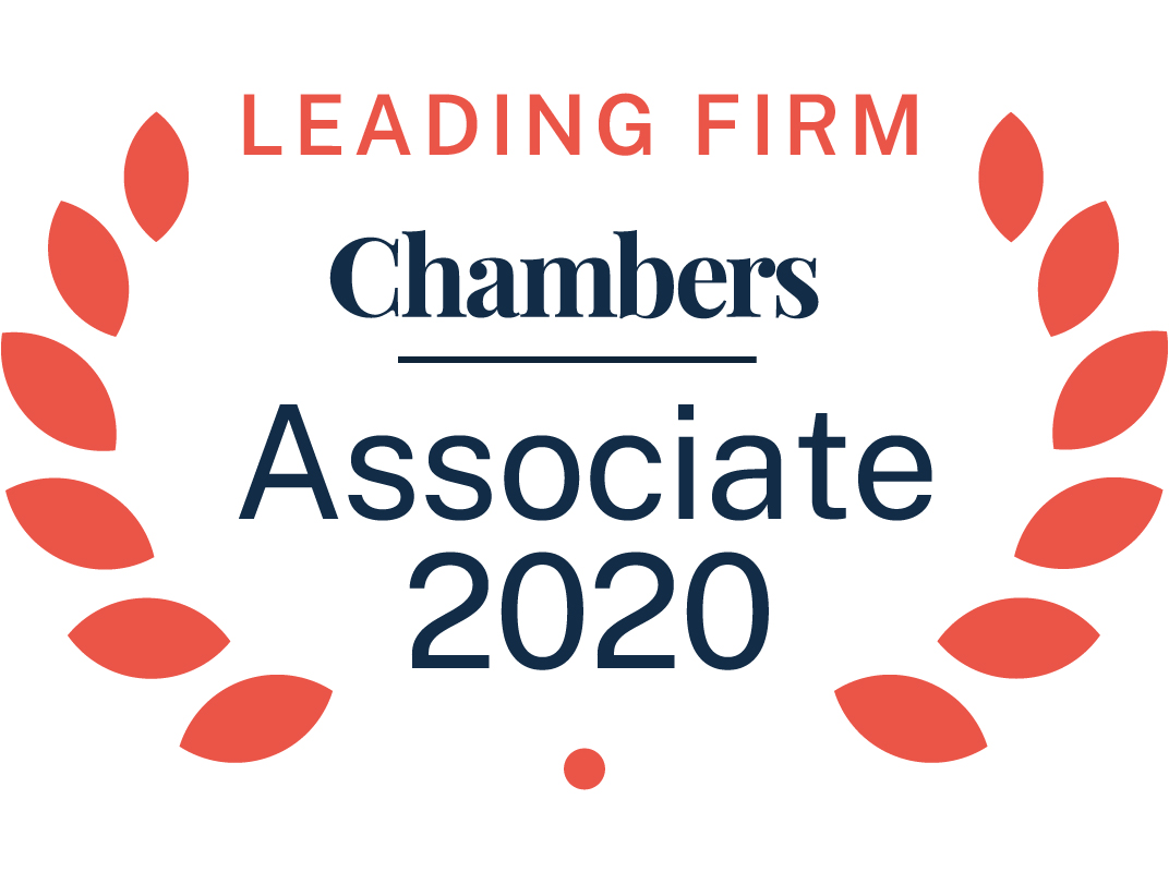 Chambers Leading Firm Associate 2019