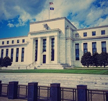 United States Federal Reserve in Washington DC